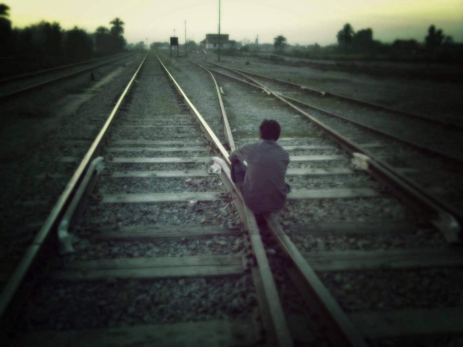 chico triste, sin camino